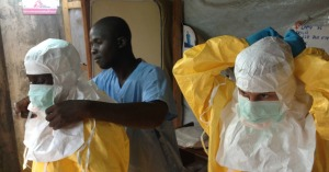 Ebola supplies are being quarantined by commercial air cancellations to West Africa.