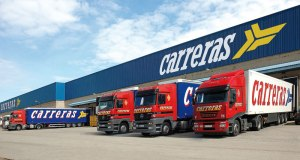 A European initiative aims to foster collaboration between companies in logistics clusters. Pictured is the Grupo Carreras facility in the PLAZA logistics park near Zaragoza, Spain.