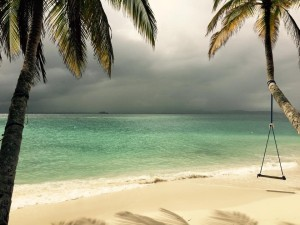 San Blas Islands beach